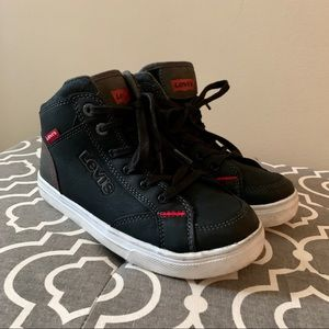 Levi's boys 3Y high top sneakers